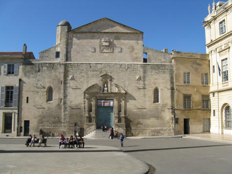 Chapelle Saint Anne in Arles France