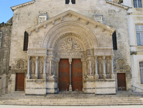 St. Trophime Church in Arles France